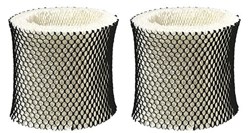 Nispira 2 Packs Holmes Type A Filter HWF62 HWF62CS Compatible Humidifier Wick Filter Replacement Fits HM1281, HM1701, HM1761, HM1297 and HM2409