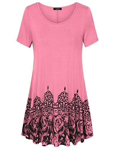 Pink A-line Top - 1