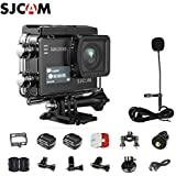 SJCAM SJ6 Kit Including Extra Battery, SJCAM Long Microphone  SJ6 LEGEND Dual Screen 2″ LCD Touch Screen 2880×2160 Novatek NT96660 MN34120PA CMOS 4K Ultra HD Sport DV Action Camera