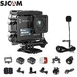 SJCAM SJ6 Kit {Including Extra Battery, SJCAM Long Microphone } SJ6 LEGEND Dual Screen 2″ LCD Touch Screen 2880×2160 Novatek NT96660 MN34120PA CMOS 4K Ultra HD Sport DV Action Camera