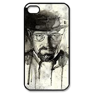 C-EUR Customized Print Breaking bad Pattern Back Case for iPhone 4/4S