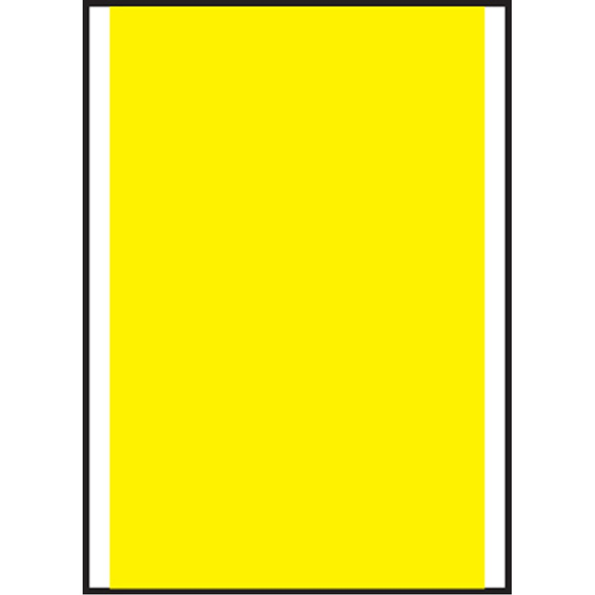 PDC Healthcare PC6-PLA-Y Label Compatible with PC6 Guns Piggyback Paper, Permanent, 1'' Core, 1.22'' x 7/8'', Yellow (Pack of 9000)
