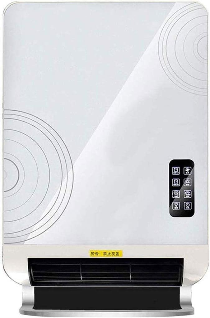 XHHWZB Calentador eléctrico de espacio - montaje en pared calentador 2400W con Base de pie, con termostato, ahorro de energía, la función de temporizador, 3 modos, rápida Sala de calor del calentador,
