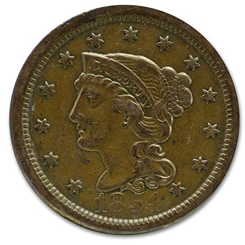 1808 - 1857 Large Cents VF/XF Cent Very Fine