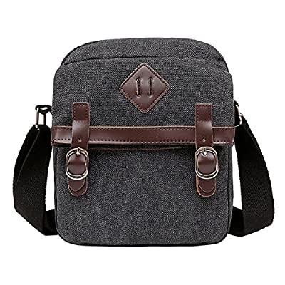 5478319e225 30%OFF Degohome Vintage Canvas Leather Trim Shoulder Messenger travel bag  for Women   Men