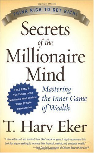 (Autographed / Signed First Edition) Secrets of the Millionaire Mind: Mastering the Inner Game of Wealth Hardcover By T. Harv Eker 2005