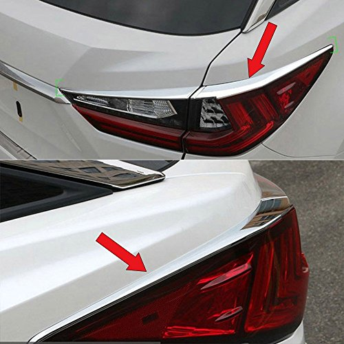 Abs Tail Light - Fit For Lexus New RX350 RX450h 2016 2017 2018 ABS Chrome Tail Light Lamp Cover Trims