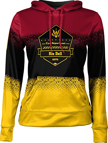Price comparison product image Girls' Rio Dell Fire Protection District Fire Department Drip Pullover Hoodie