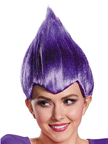 Purple Wacky Troll Doll Wig (Troll Doll Costume)