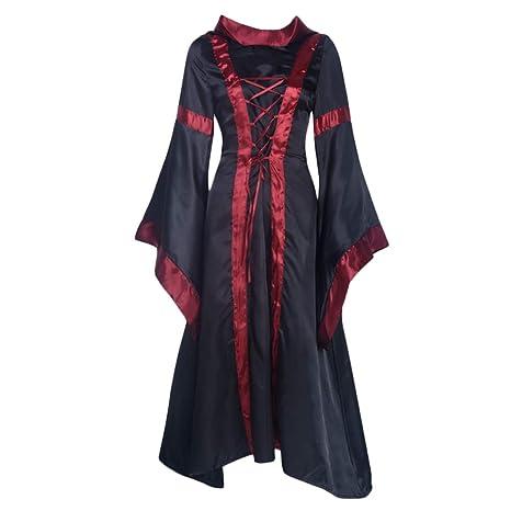 Witch Vestido Victoriano, Mujer Witch Renacimiento Vestido ...