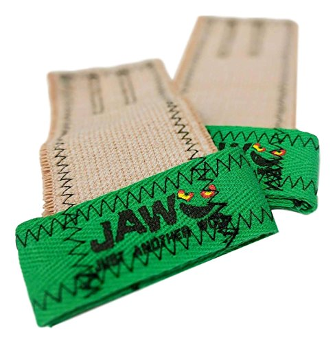 JAW JUST ANOTHER WOD JAW Pullup Grips (Mint Green, Large) by JAW JUST ANOTHER WOD