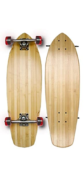 Bamboo Skateboards Boardwalk Cruiser Complete Skateboard 75d3c833f9e