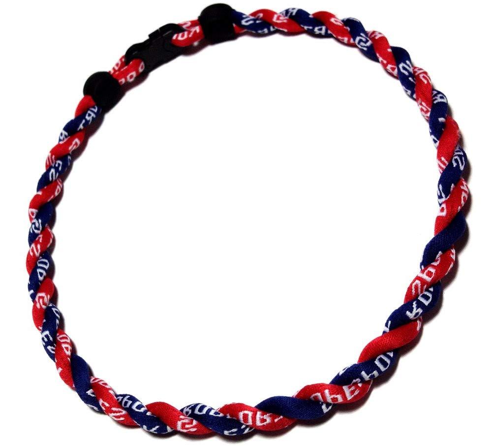 Sbeauty 2 Rope Titanium Sports Tornado Necklace 18