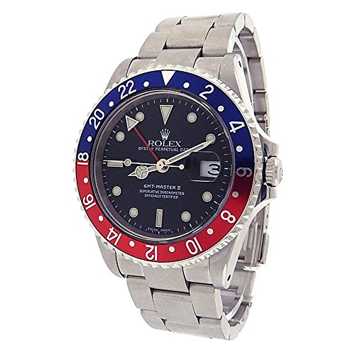 Rolex GMT Master II automatic-self-wind mens Watch 16710 (Certified Pre-owned)