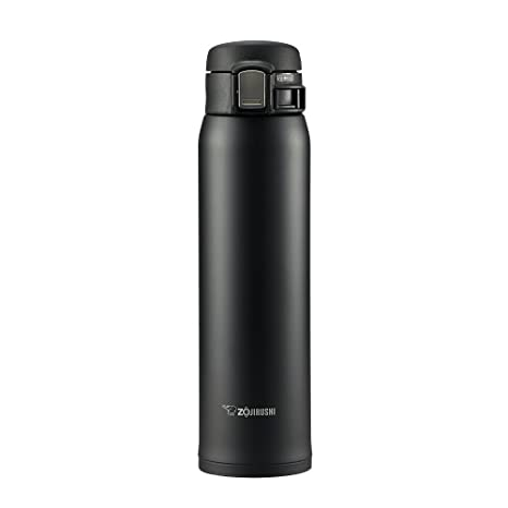 Zojirushi SM-SA60 BA - Termo de acero inoxidable, color negro, 600 ml