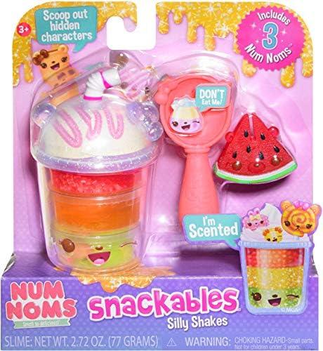 MGA Entertainment Num Noms Snackables Silly Shakes-Tropical Slushie: Amazon.es: Juguetes y juegos