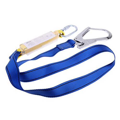 Baosity 25KN Polyester Quickdraw Connect Sling Bandlet Webbing Strap with Steel Hook for Outdoor Rock Climbing Emergency by Baosity