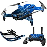 MightySkins Skin For DJI Max Coverage - Lightning Storm | Protective, Durable, and Unique Vinyl Decal wrap cover | Easy To Apply, Remove, and Change Styles | Made in the USA