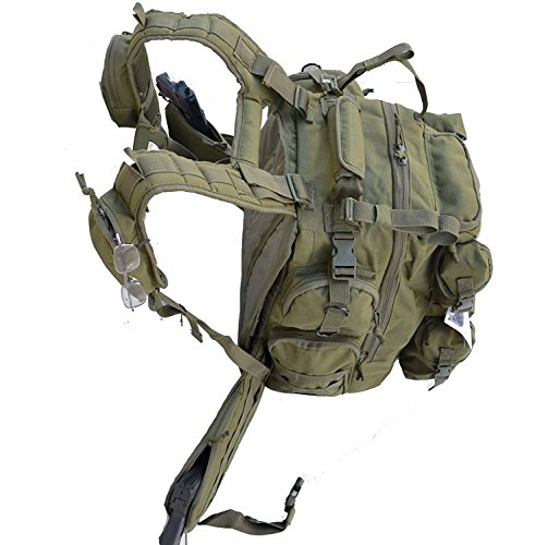 Explorer Tactical Bag, Olive Drab Green, 20 x 11.50 x 11-Inch
