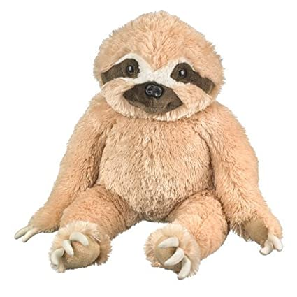 Amazon Com Wildlife Artists Sloth Plush Toy Extra Large 30 Toys