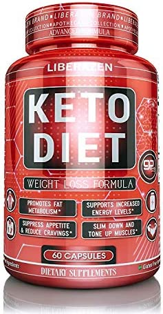 Keto Diet Pills – Instant Exogenous Ketones for Fuel and Natural Burn and Fat Loss Blast – Advanced Weight Loss Pure Keto Supplements for Fast Ketosis – 60 Capsules