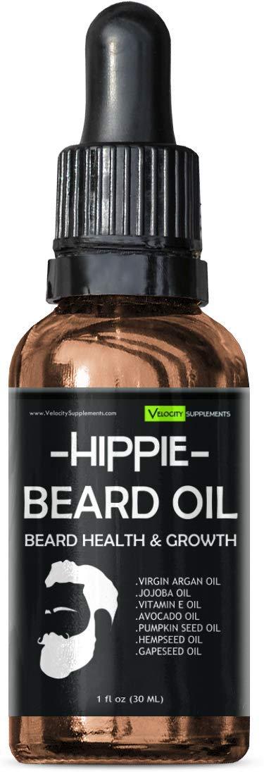 Beard Oil for Beard Growth, Beard Thickness, Beard Scent & Beard Health by Velocity Supplements (Image #7)