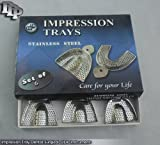 6 Pedo Dental Impression Tray Set peforated