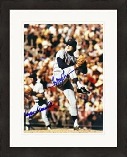 Tug McGraw & Wayne Garrett autographed 8x10 Photo (New York Mets) Matted & Framed - Autographed MLB Photos