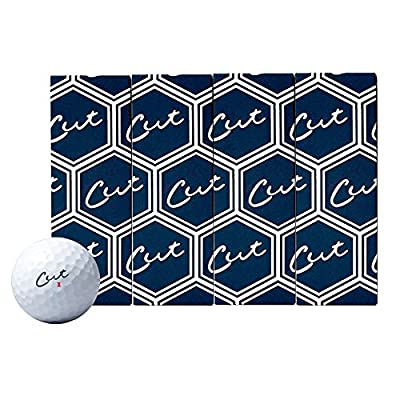 Cut Blue Golf Balls - 3 Dozen Discount Bulk Buy