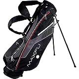 Maxfli 2015 Sunday Stand Bag, Black/Grey, One Size