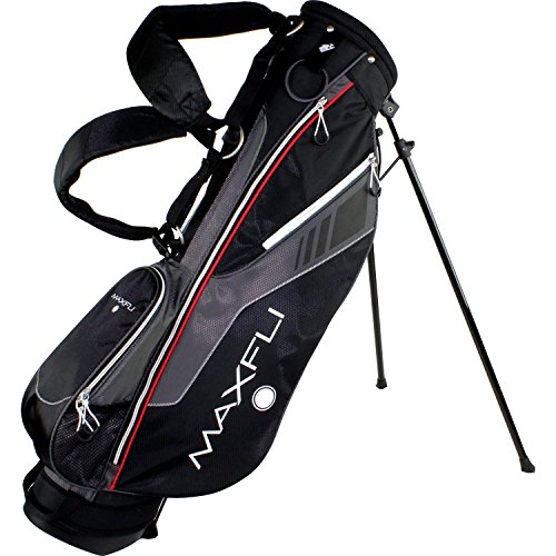 Maxfli 2015 Sunday Stand Bag, Black/Grey, One Size by Maxfli
