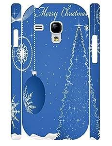 Customized Classic Christmas Tree 3D Print Durable Phone Skin Case for Samsung Galaxy S3 Mini I8200