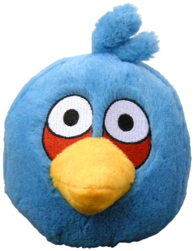 5 Inch Plush Doll - Angry Birds Plush 5-Inch Blue Bird with Sound