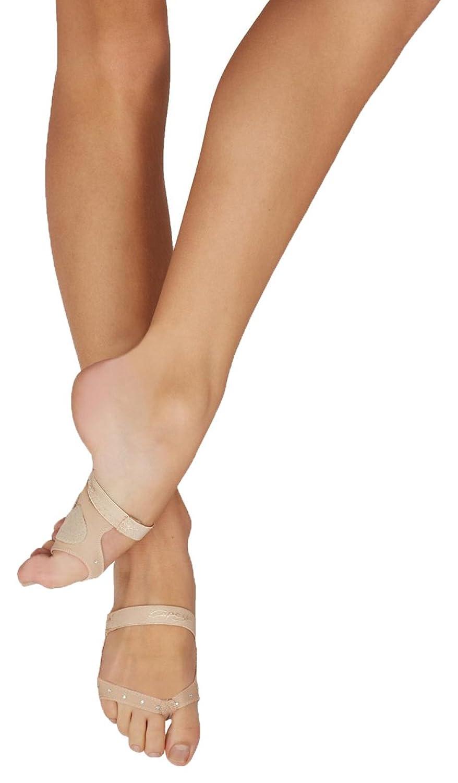 Capezio Dance Thongz Footundeez (Women's) 7I7E5