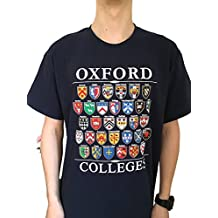 Colleges of Oxford University T-Shirt - Navy - Univeristy of Oxford Apparel