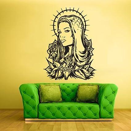 Amazon.com: Wall Vinyl Sticker Decals Decor Art Virgin Mary Prayer ...
