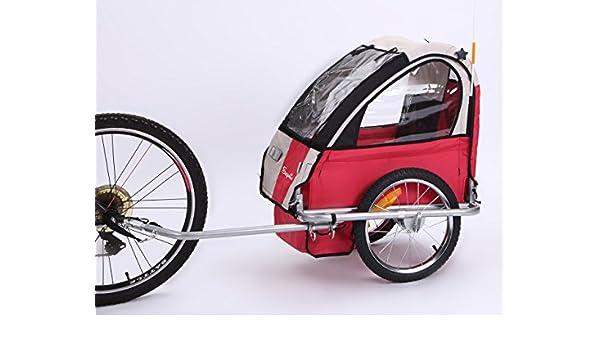 Sepnine BT-505 - Remolque de Bicicleta para niño: Amazon.es ...