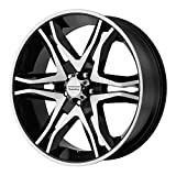 American Racing AR893 Mainline Black Machined Wheel (17x8''/6x139.7mm, +25mm offset)