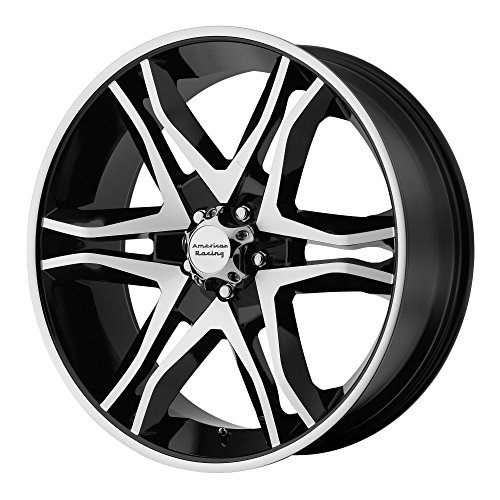 American Racing Mainline Wheel with Gloss Black Machined (20×8.5″/5×4.5″)