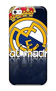 Brand New 5c Defender Case For Iphone (real Madrid Fc Logo )