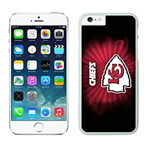 Personalized Design Phone Case For Iphone 6 Kansas City Chiefs iPhone 6 4.7 Inches Cases 09 White TPU Protective Phone Case