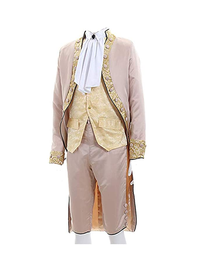 Masquerade Ball Clothing: Masks, Gowns, Tuxedos 1791s lady Mens Costume Victorian Gentelman Regency Tailcoat Steampunk Clothing $109.50 AT vintagedancer.com