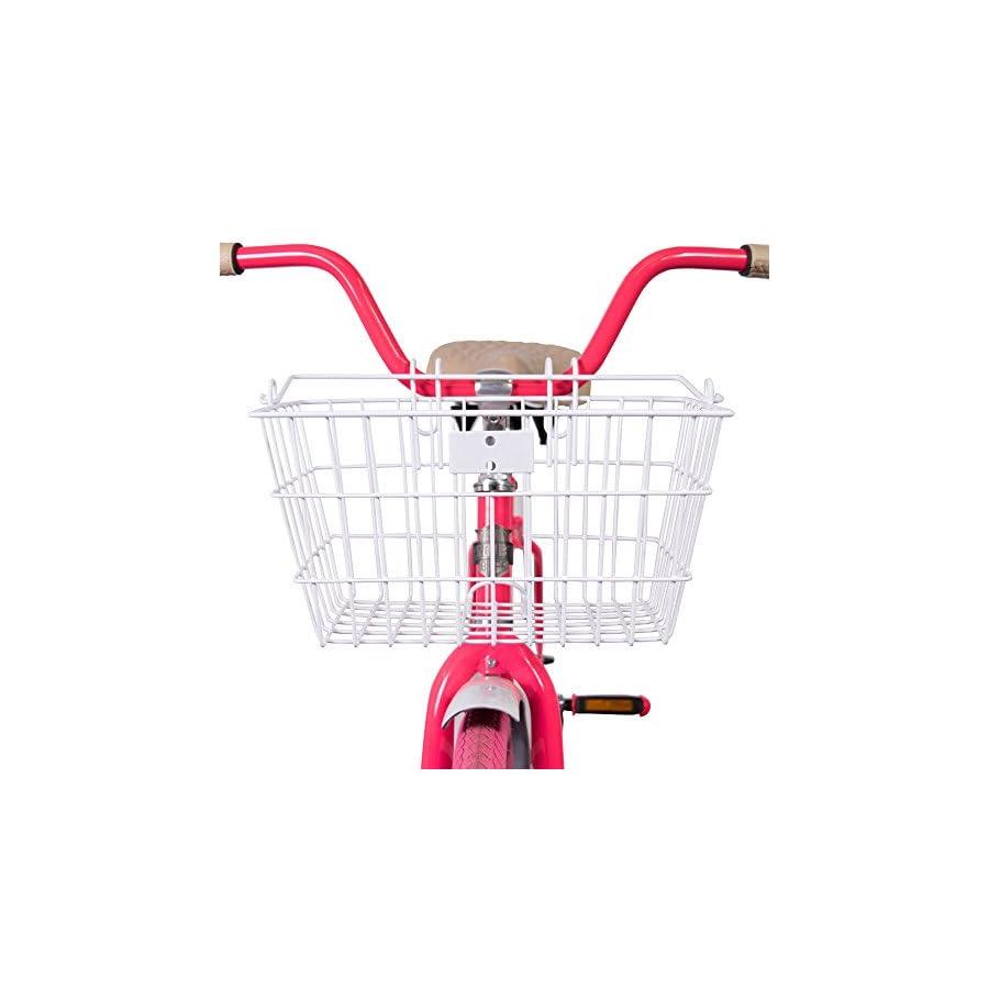 Bike, Bicycle Basket with lift off bracket. Detachable basket with handle by Projekt Custom Bikes