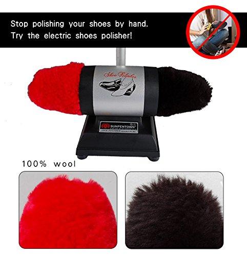 Sunpentown Dual-Buffer Shoe Polisher, Multi