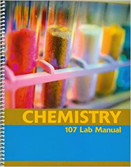 Chemistry 107 lab manual custom edition pearson 9780536956699 chemistry 107 lab manual custom edition pearson 9780536956699 amazon books fandeluxe Gallery