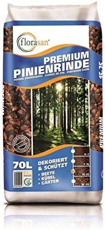 florasan® Premium Corteza de Pino 70 L 25 – 40 mm: Amazon.es: Jardín