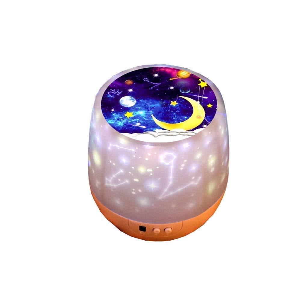 BEANDENG Estrellas Luz de la noche Proyector Lámpara Bebé LED ...