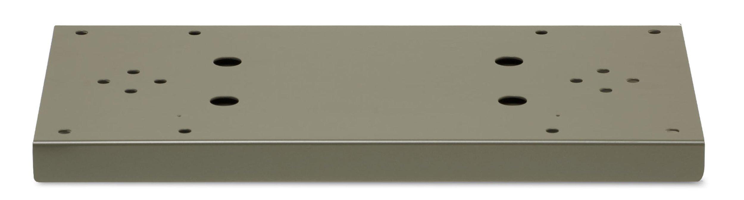 Architectural Mailboxes Duo Spreader Plate, Graphite Bronze