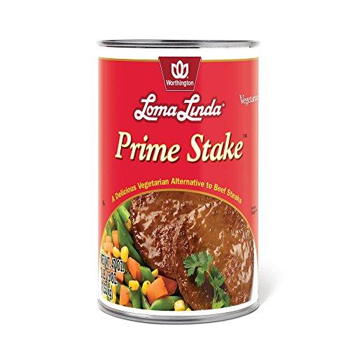 Loma Linda - Plant-Based - Prime Stakes (47 oz.) - Kosher (Best Vegan Burger Patties)