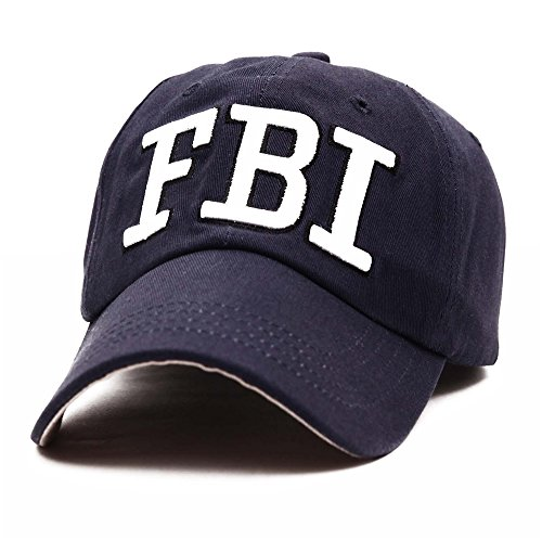 FBI Hats GEANBAYE 100% Cotton Police Agent Hats For Men And Women - Police Cotton Hat